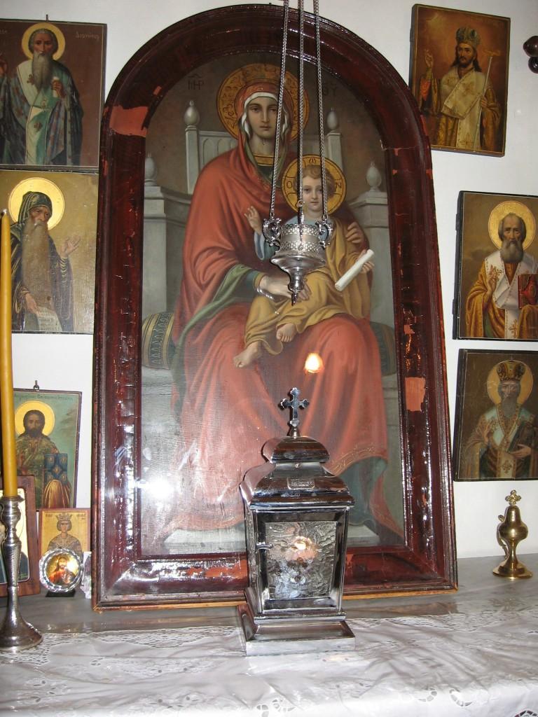 Icoana Maicii Domnului la care se ruga Sfantul Nectarie