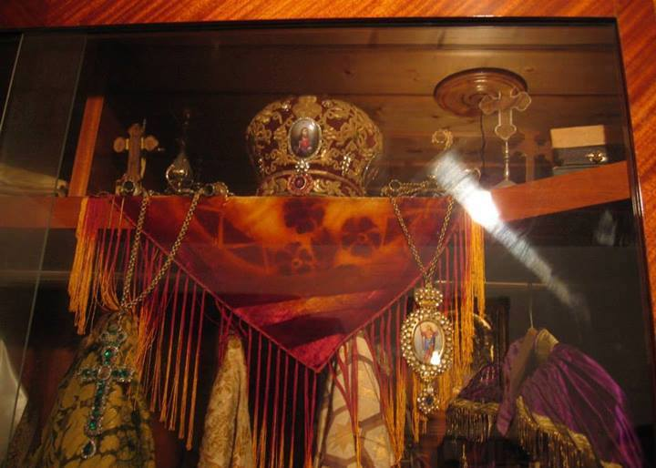 Vestimentatia arhiereasca apartinand Sfantului Nectarie!